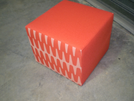 Cubed Foot Stool