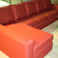 Custom Made Lounge (Sofa with Chaise)