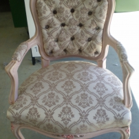 Chair Recovery - Diamond Buttons