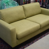 Reupholstered 2 Seater Sofa