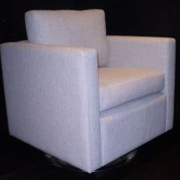 Andy Swivel Arm Chair