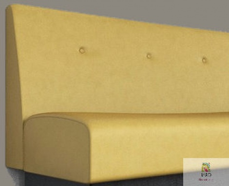 Buttoned Banquette manufactured in Melbourne & Gippsland by JARO Upholstery