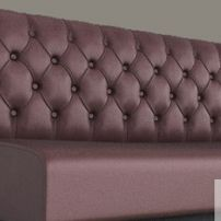 Diamond Buttoned Banquette manufactured in Melbourne & Gippsland by JARO Upholstery