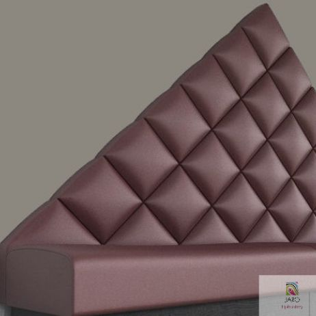 Diamond Paneled Banquette manufactured in Melbourne & Gippsland by JARO Upholstery
