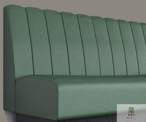 Fluted Banquette manufactured in Melbourne & Gippsland by JARO Upholstery