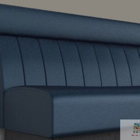 Fluted Banquette with Head Rest manufactured in Melbourne & Gippsland by JARO Upholstery