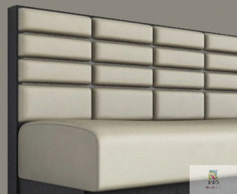 Oblong Square Banquette manufactured in Melbourne & Gippsland by JARO Upholstery