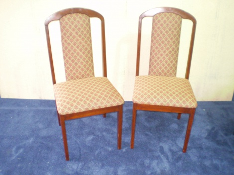 Dining Chair Reupholstery