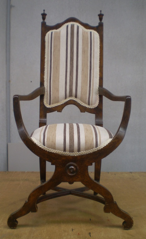 Elizabethan Chair Reupholstery