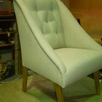 JARO's Fia Modern Arm Chair - Available in Pakenham, Melbourne and Mornington Peninsula areas. $440