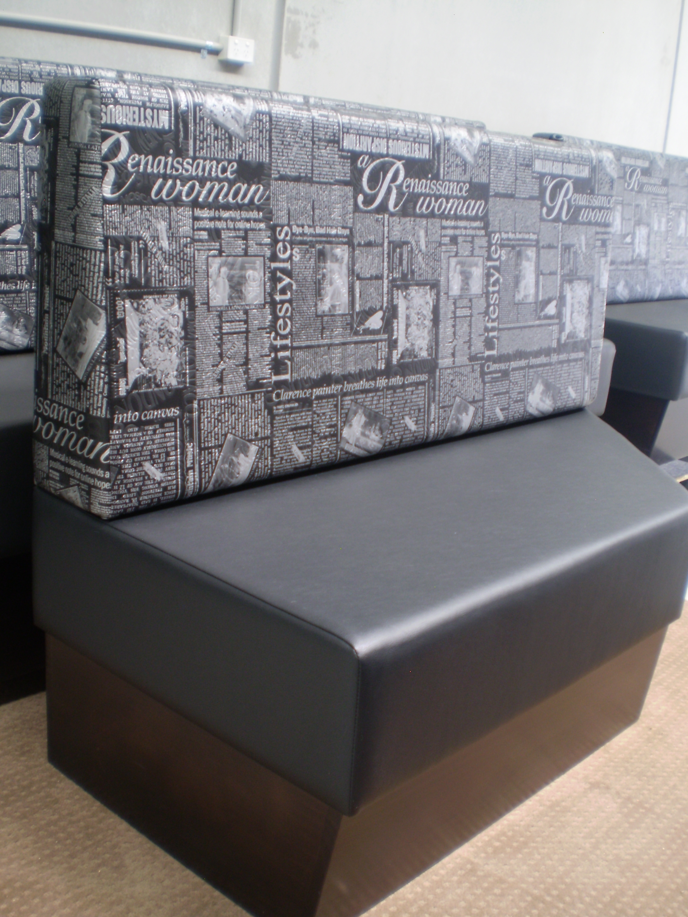 Hospitality Cafe Restaurant Hotel Seats Banquette