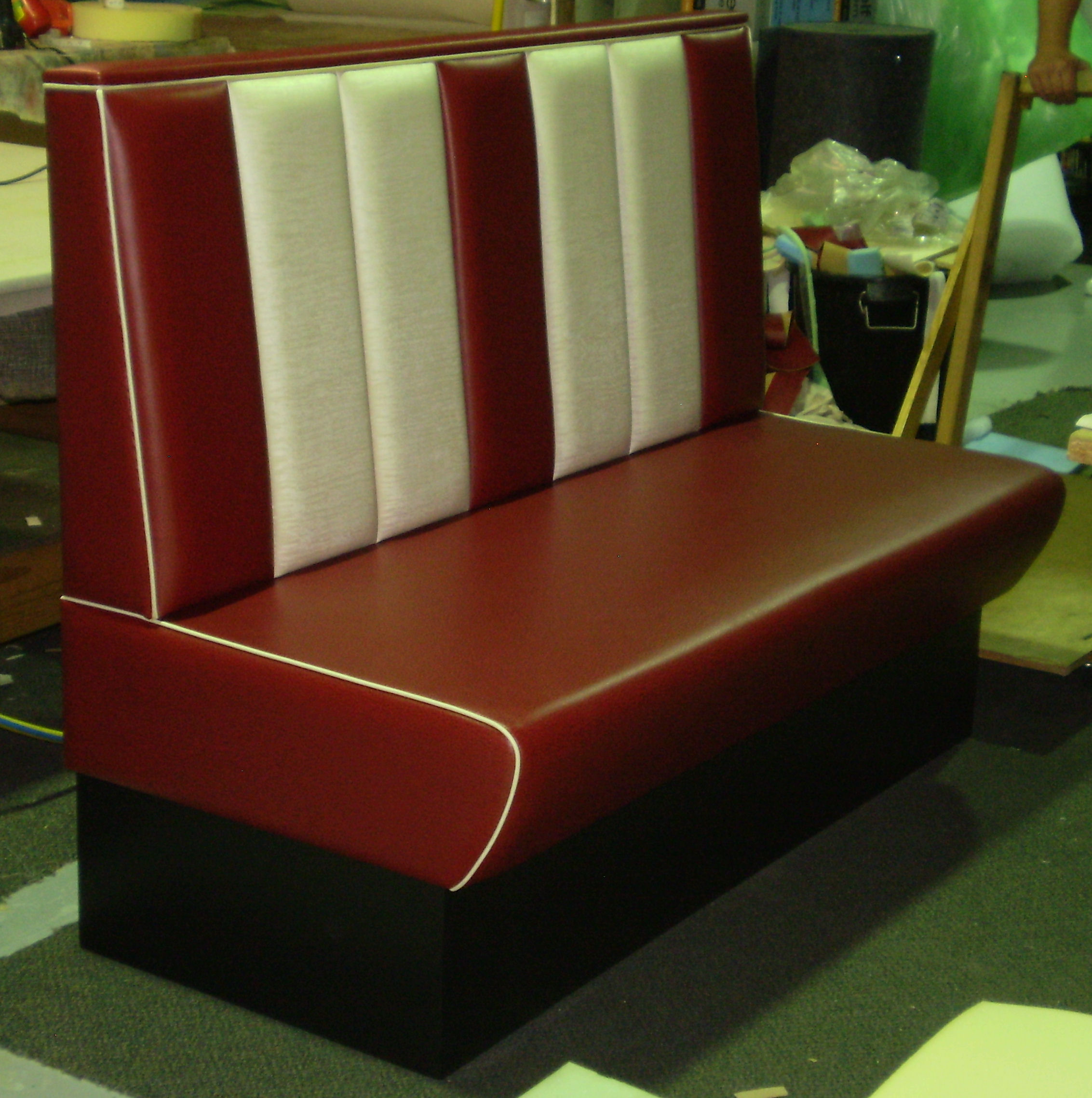 1950s Booth & Banquette Seating Available In Melbourne