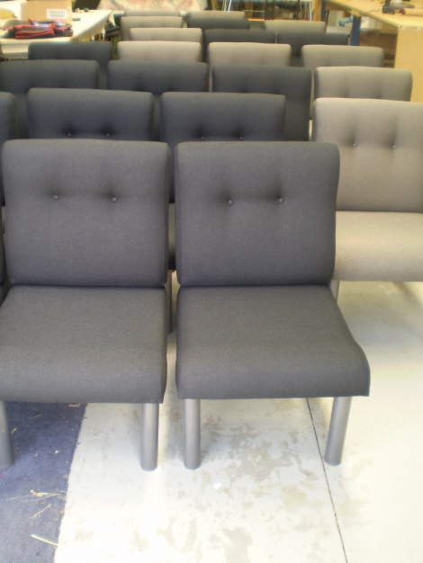 Commercial Staff Room Chairs Reupholstered, Melbourne, Gippsland and Mornington Peninsula areas