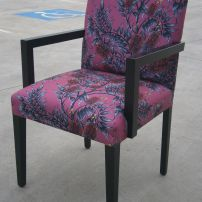 Australian Themed Arm Chairs, Bottle Brush, Melbourne, Mornington Peninsula, & Gippsland areas