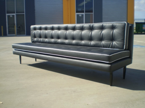 1950's Sofa Banquette Seating for Melbourne and Gippsland areas.