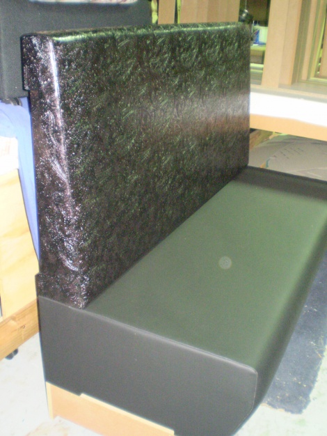 NEW! Classy Embossed Vinyl Banquette & Booth Seating available in Melbourne & surrounding areas.