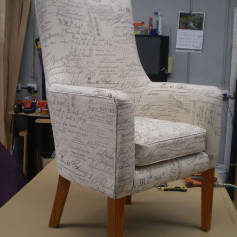 Ocassional Chairs in Revenge and Paris prints are available from JARO, Melbourne & Gippsland, Vic