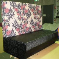 The Block banquette seat looked fantastic!  We can design Yours!  Servicing Melbourne