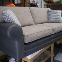 Reupholstered Sofas in Leather and Fabric - Melbourne Areas