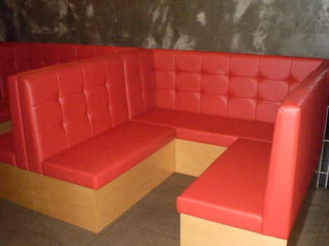 The most popular style of Booth & Banquette restaurant & cafe seats by JARO, Melbourne and Sydney