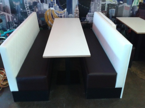 Stylish Banquettes & Booth Seats for Restaurant & Cafe Fitouts available from JARO, Melbourne