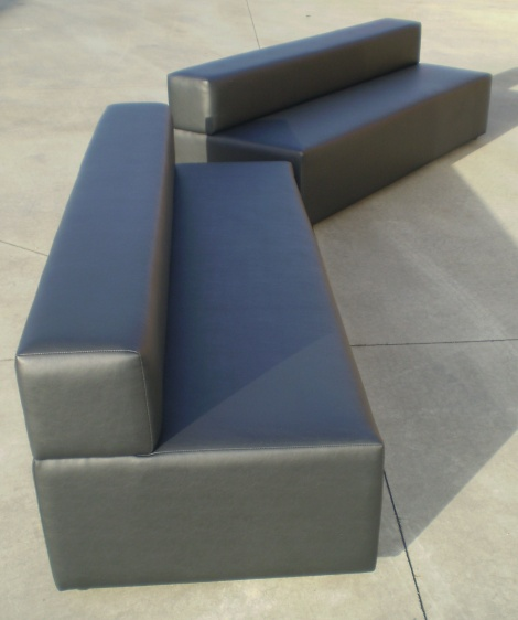 Stylish Night Club Banquette Seats, many styles available at JARO Upholstery, Melbourne & Gippsland
