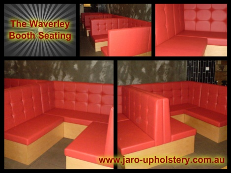 Booths not just a restaurant chair but a comfortable sturdy hardwearing seating option in Melbourne
