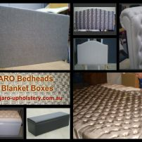 Custom Made Bedhead & Bases and Blanket Box Styles available at JARO, Pakenham, Melbourne