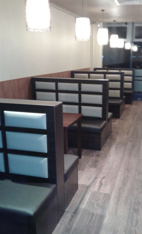 Stylish Modern Banquettes & Booth Seating available at JARO in Melbourne