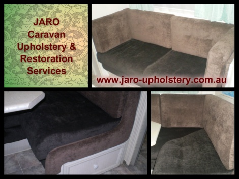 Caravan Seat and Upholstery Specialists, servicing Melbourne and Gippsland areas.