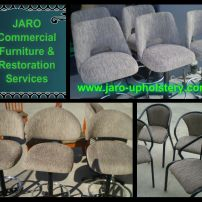 Gaming Stool Repairs & Reupholstery available from JARO Upholstery, Melbourne and Gippsland areas