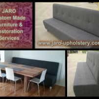 Banquette and Booth Seats for Melbourne & Gippsland Homes.  Available in many styles and colours.