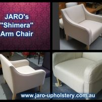 JARO's Shimera Modern Boutique Arm Chair
