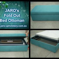 JARO'S Fold Out Bed Sofa's, Ottomans & Window seating available in Melbourne