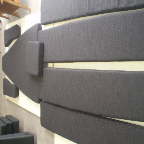 New Seat Cushion Covers for a Yacht by JARO Upholstery, Melbourne, Victoria