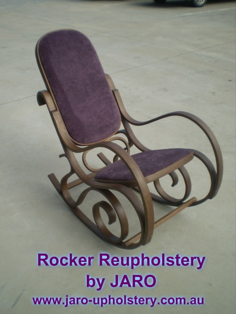 Rocker Reupholstery and Restoration Service, JARO Upholstery Melbourne