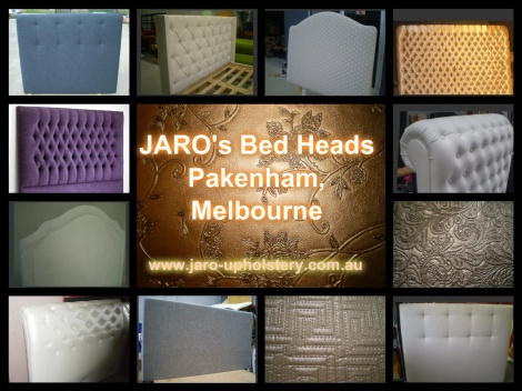 Melbourne Custom Made or Reupholstered Bed Heads & Bases - Your design or ours! Great Prices!