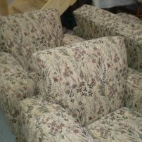 JARO can reupholster your club sofa lounge in a traditional cover or a new modern look.