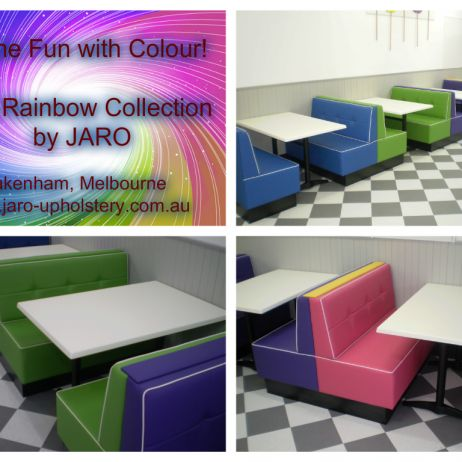 Rainbow Cafe & Restaurant Booth & Banquette Seating, Melbourne