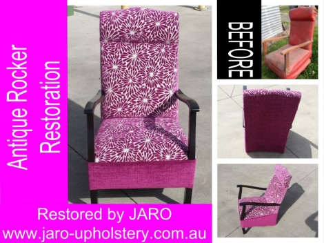 Rocking Chair Reupholstery & Restoration