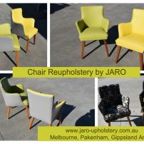 Reupholstered Chairs by JARO Upholstery