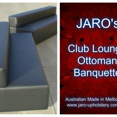 Night Club and Pub Seating - Top commercial grade quality frames and vinyls to last.  Melbourne area