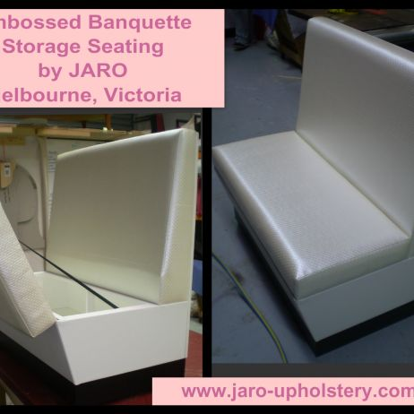 Banquette & Diner Booth Seats for Home with Storage custom made in South East Melbourne
