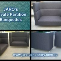 Privacy Sofa Seats with Acoustic High Back for Office or Stores