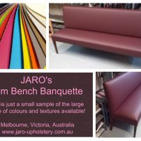 Slim Sleek Bench Sofa Seats - Great for those small rooms!