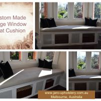 JARO Custom Made Window Seats & Cushions, Melbourne