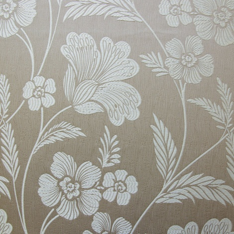 "Profile ""Chelsea Latte""! How lovely would this floral look on a bedhead?"