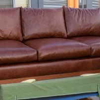 Rustic Leather Sofa - Just love leather!