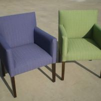 JARO's Top Selling Delta Modern Sturdy Dining Chairs - Custom Sizing available.