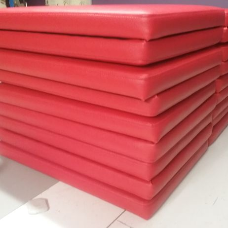 Quality Commercial Grade Vinyl Upholstered Bench Seat Plates available in Melbourne